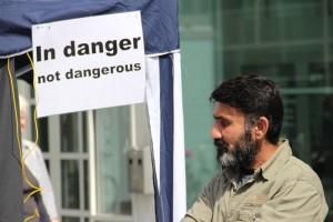 Vluchtlingen: in danger, not dangerous